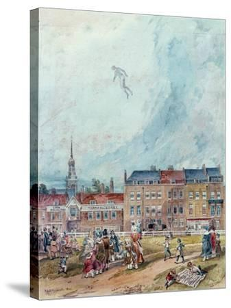 An Aerial Guy Fawkes, 1840--Stretched Canvas Print