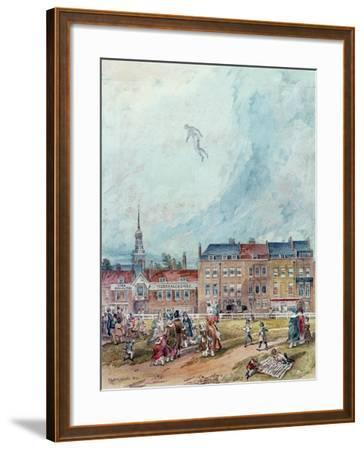 An Aerial Guy Fawkes, 1840--Framed Giclee Print
