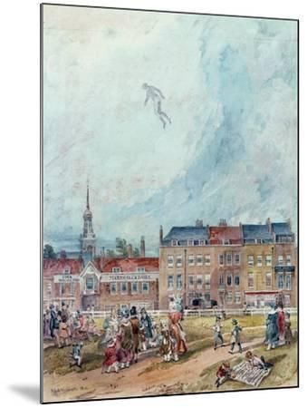 An Aerial Guy Fawkes, 1840--Mounted Giclee Print