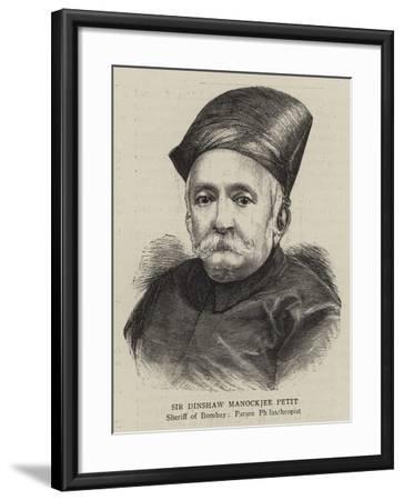 Sir Dinshaw Manockjee Petit--Framed Giclee Print
