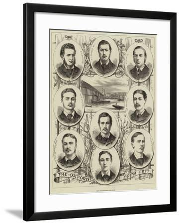 The Universities Boat-Race--Framed Giclee Print