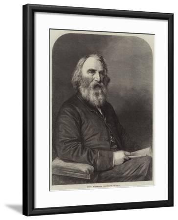 Henry Wadsworth Longfellow--Framed Giclee Print