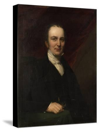 Portrait of Robert Laidlaw--Stretched Canvas Print