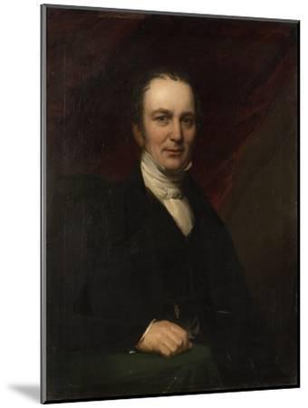 Portrait of Robert Laidlaw--Mounted Giclee Print