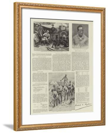 The War in Matabele-Land--Framed Giclee Print