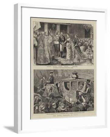 The Royal Wedding in Spain--Framed Giclee Print