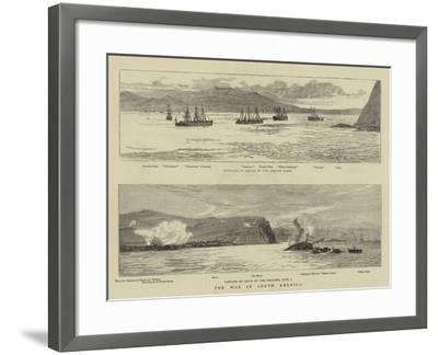 The War in South America--Framed Giclee Print