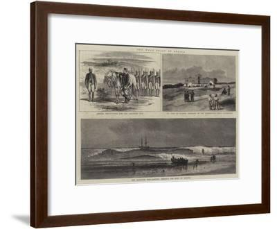 The West Coast of Africa--Framed Giclee Print