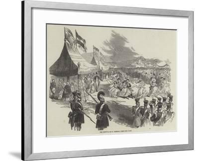 The Festival of St Gregory--Framed Giclee Print
