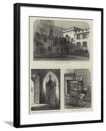 The Deanery in Westminster--Framed Giclee Print