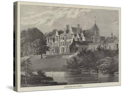 Sandringham Hall, Norfolk--Stretched Canvas Print