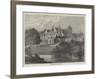 Sandringham Hall, Norfolk--Framed Giclee Print