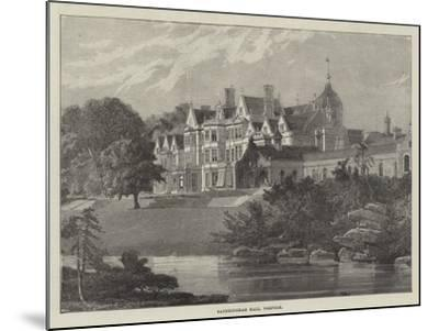 Sandringham Hall, Norfolk--Mounted Giclee Print