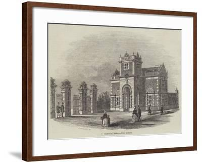 Victoria Park, the Lodge--Framed Giclee Print