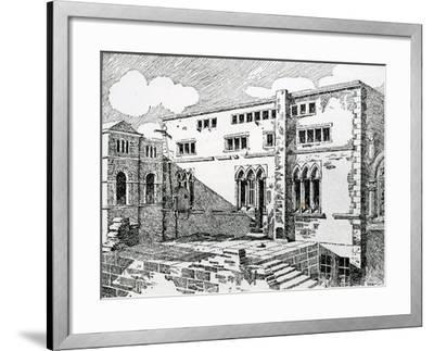 Ancient Synagogue at Metz--Framed Giclee Print