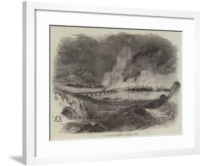 Great Fire at Pittsburgh--Framed Giclee Print