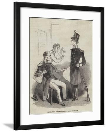 Irish Armed Out-Pensioners--Framed Giclee Print