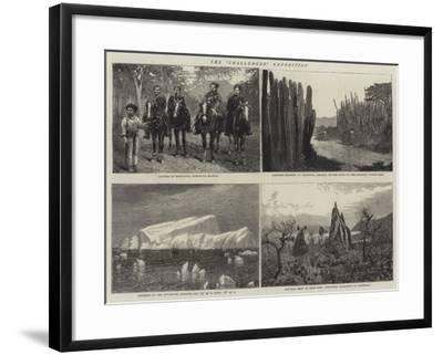 The Challenger Expedition--Framed Giclee Print