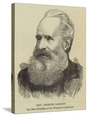 Reverend Charles Garrett--Stretched Canvas Print