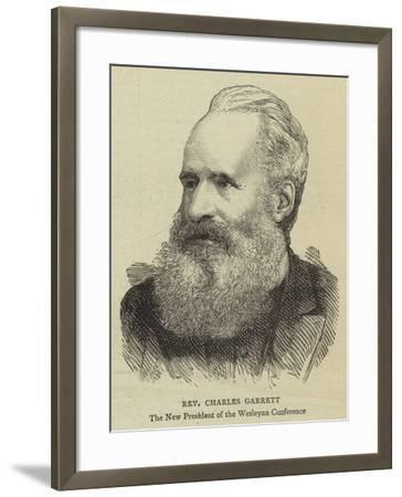 Reverend Charles Garrett--Framed Giclee Print