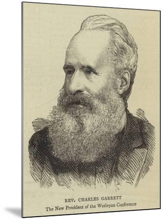 Reverend Charles Garrett--Mounted Giclee Print