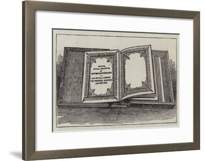 The Royal Wedding Presents--Framed Giclee Print