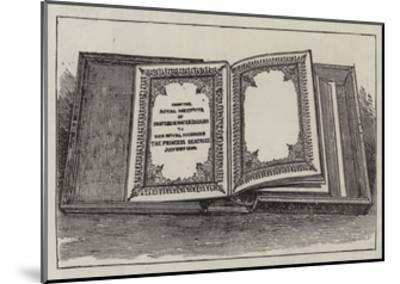 The Royal Wedding Presents--Mounted Giclee Print