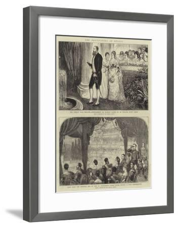 The Festivities in Russia--Framed Giclee Print
