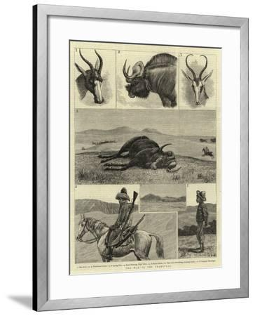 The War in the Transvaal--Framed Giclee Print