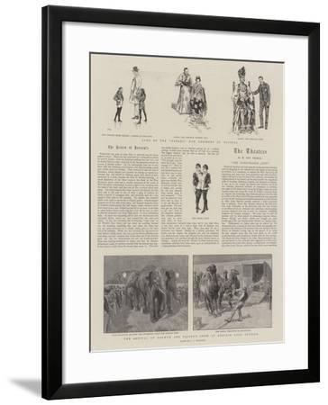 Barnum and Bailey's Show--Framed Giclee Print