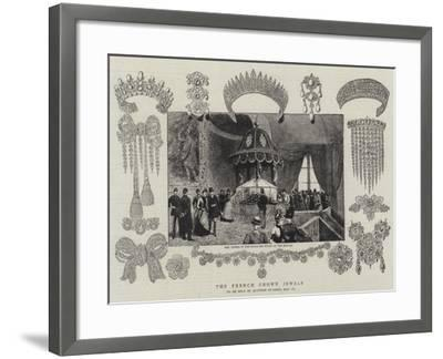 The French Crown Jewels--Framed Giclee Print