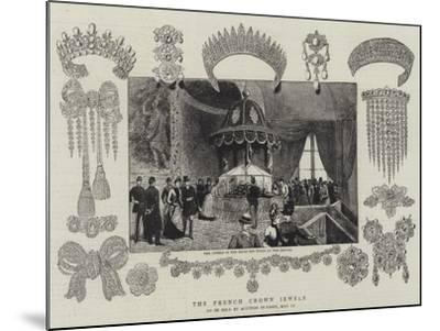 The French Crown Jewels--Mounted Giclee Print