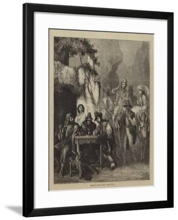 Travellers and Brigands--Framed Giclee Print