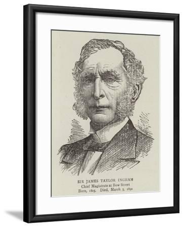 Sir James Taylor Ingham--Framed Giclee Print