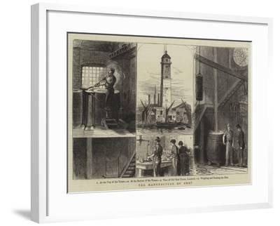 The Manufacture of Shot--Framed Giclee Print