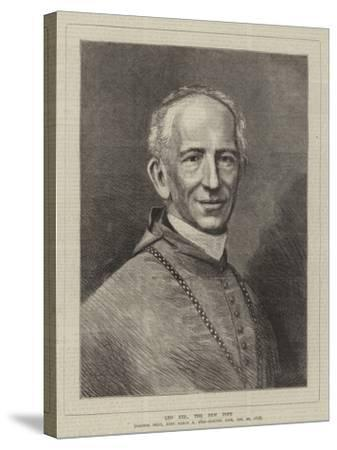 Leo XIII, the New Pope--Stretched Canvas Print