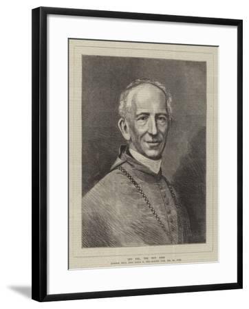 Leo XIII, the New Pope--Framed Giclee Print