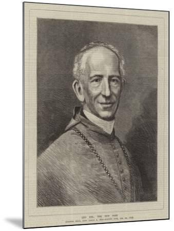 Leo XIII, the New Pope--Mounted Giclee Print