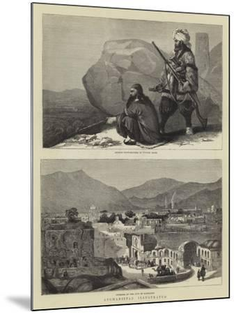 Afghanistan Illustrated--Mounted Giclee Print