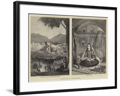 Afghanistan Illustrated--Framed Giclee Print