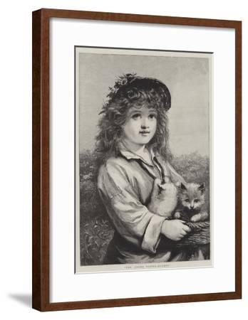 The Young Foster-Mother--Framed Giclee Print