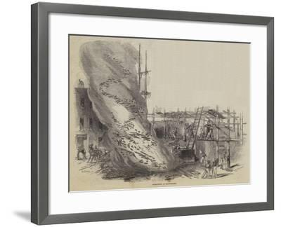 Whirlwind at Manchester--Framed Giclee Print