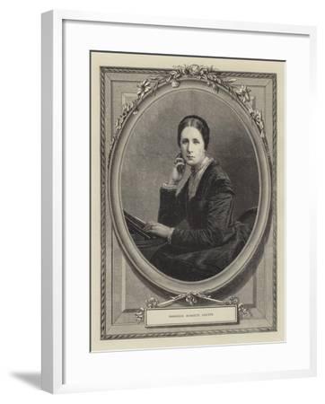 Baroness Burdett Coutts--Framed Giclee Print