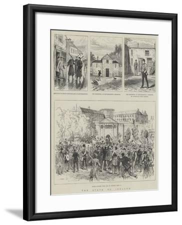 The State of Ireland--Framed Giclee Print
