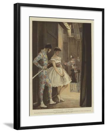 Afterwards Columbine--Framed Giclee Print