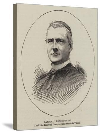 Cardinal Ledochowski--Stretched Canvas Print