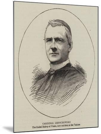 Cardinal Ledochowski--Mounted Giclee Print