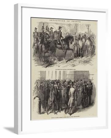 Revolution in France--Framed Giclee Print