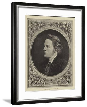 The Marquis of Lorne--Framed Giclee Print