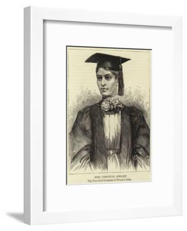 Miss Cornelia Sorabji--Framed Giclee Print